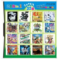 Buy cheap F13-218 32GB 218 in 1 218 in one Multi games Card for DS/DSI/DSXL/3DS Game Console product