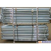 Buy cheap Slab Post Shoring Adjustable Scaffolding Prop Q345 Steel Pipe For Formwork Supporting product