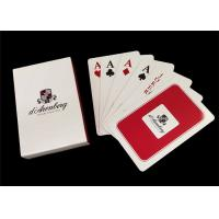 Buy cheap 100 Percent PVC Plastic Playing Cards , Washable Jumbo Index Poker Playing Cards product