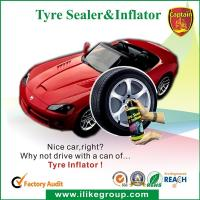Buy cheap Tubeless Car Tire Sealant / Motorcycle Tire Sealer And Inflator 450ml / 650ml product