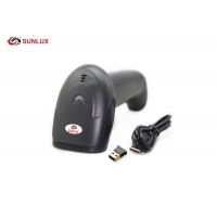 Buy cheap 220mA 300m 2D Wireless Barcode Scanner With Memory Function product