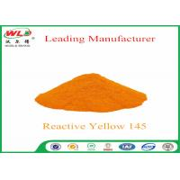 Buy cheap 180 Solubility Reactive Yellow Fabric Dye WDE C I Yellow 145 One Phase Printing Process product