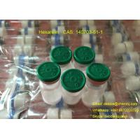 Buy cheap Hexarelin Freeze Dried Raw Peptides CAS 140703-51-1 for Deceasing Body Fat product