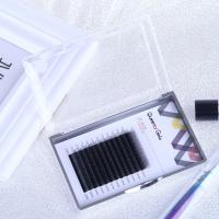Buy cheap Hand Made Individual Eyelash Extensions 0.05mm Y Shape Synthetic Hair Material from wholesalers