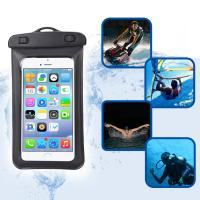 Buy cheap Amphibious Floatable Waterproof Phone Pouch Bag With Lanyard and Armband Strap For Swimming / Running product