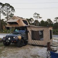 Buy cheap 3-4 Person Off Road Vehicle Awnings UV50+ Protection 1 Year Warranty from wholesalers
