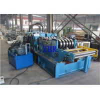Buy cheap SGS CZ Purlin Roll Forming Machine Dual Holes Punching 11 MPa Work Pressure product