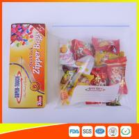 Buy cheap Resealable Clear Ziplock Snack Bags For Food Packaging Eco Friendly product