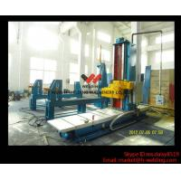 Buy cheap Automatic End Face Milling Machine 6KW 1200mm * 1500mm for H Beam / Box Beam Line product