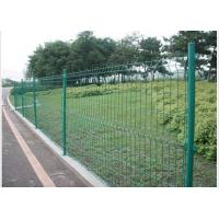 Buy cheap PVC Coated Steel Wire Fencing 55mmX200mm Wire Mesh Garden Fence product