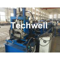 Buy cheap Quick Interchangeable C / Z Purlin Roll Forming Machine for Making C / Z Shaped from wholesalers
