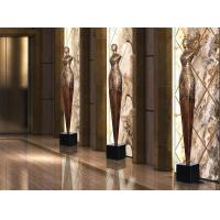 Buy cheap Floor Standing Shop Window Displays Accessories Copper Statue For Shop Window from wholesalers