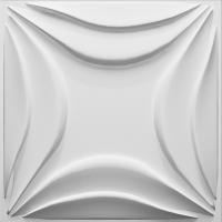 Buy cheap 3dboard wall decor panels 500*500 fiber eco wave panels with original colcor LILY product