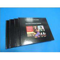 Buy cheap Commercial Black glossy paper Hardcover Coffee Table Book Printing Services product