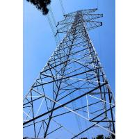 Buy cheap Steel Frame Building Construction Telecommunication Antenna Self Supporting Towers 3L / 4L product