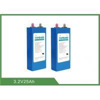 China 3.2V 25Ah Prismatic Lithium Iron Phosphate Cells With 8 Years Calendar Life on sale