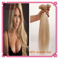 China Top grade 7a high quality 613 color human hair remy hair extension wholesale