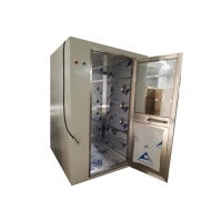 Buy cheap CE Electronical Interlock Cleanroom Air Shower Stainless Steel 304 product