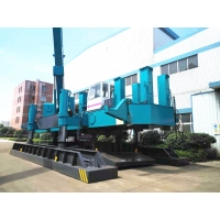 Buy cheap High Piling Speed No Vibration Hydraulic Static Pile Driver / Pile Foundation Machine With Unique Design product