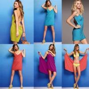 Buy cheap Women one piece swimsuites Magic Swimwear bath towel Summer Beach Dress Bathrobe product