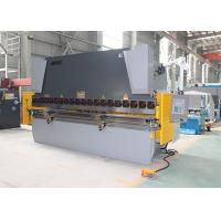 Buy cheap 125T 2.5M Hydraulic NC  Press Brake Sheet Bending Machine 3 Years Warranty product