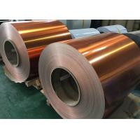 Construction / Building Color Coated Aluminum Coil Rustproof 8 - 2650 Mm Width