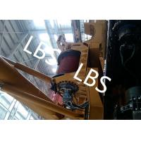 Quality Electric / Hydraulic Crawler Crane Winch Crane Windlass Groove Drum for sale