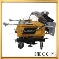 Buy cheap Automatic Wall Plaster Rendering Machine For Cement Paster Construction Machinery product