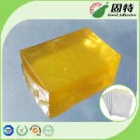 Buy cheap Medical Baby Diapers PSA Hot Melt Adhesive Yellow Transparent Block product