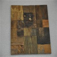 Buy cheap Decorative 3d Solid Wood Wall Paneling , Artificial Carved Wood Wall Panel product