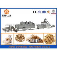 Buy cheap 380v 22kw Pet Food Production Line High Efficiency 120 - 150kg / H 12000 * 4000 * 2200mm product