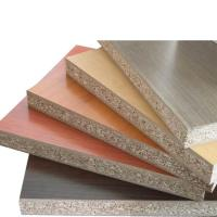 Buy cheap 18mm Thickness Melamine Faced Chipboard With Polished Surface FSC Standard product