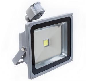 Buy cheap PIR Motion Sensor Outdoor LED Flood Light 50W 100LM / W High Lumen product