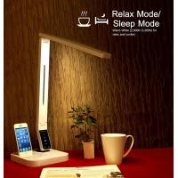 China 2016 promotion UL approval LED desk lamp with USB Iphone docking four CCT nine level brightness auto off timer wholesale