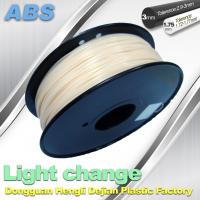 Buy cheap White To Blue Color Changing Filament ABS Filament For 3D Printers product