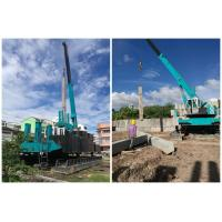 Buy cheap Hydraulic Pile Foundation Equipment , Pile Pressing Machines OEM Service product
