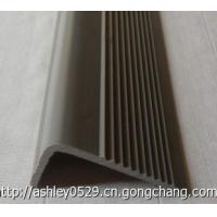 Quality 20x50mm anti-slip stair nosing/non-slip strip/PVC/soft/yellow/any color available for sale