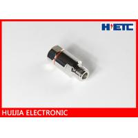 Buy cheap RF N Straight Female Aerial Cable Connector With Brass Body Nickel / Silver Plated product