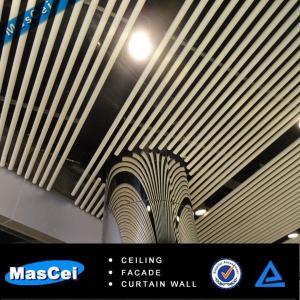 Buy cheap 良質の波のアルミニウム ストリップの天井/バッフルの天井 product