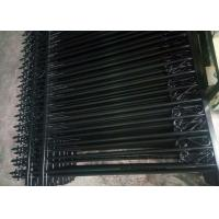 Buy cheap Anti - Climb Automatic Driveway Gates Garrison Steel Tubular Fence For Yard product