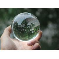 Buy cheap Transparent Glass Ball Crystal Decoration Crafts 2 - 30cm Diameter Optional product
