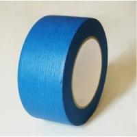 Buy cheap High Performance Crepe Paper Blue Masking Tape For Humid Wall And Floor product