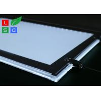 Buy cheap Removable LED Light Box For Crystals , Magnetic Cover LED Slim Crystal Frame Light Box product