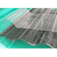 Buy cheap Durable Heat Insulation FRP Translucent Roofing Sheets 50 Barcol Hardness product