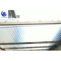 Buy cheap Lightweight Transparent Corrugated Greenhouse Panels Weather Resistance product