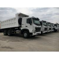 Buy cheap 10 Wheeler 3 Axle Heavy Duty Dump Truck For One Bed And Front Lift System product