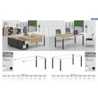 Buy cheap 50x50 steel  tube  1  person staff workstation desk office furniture product