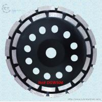 Buy cheap Double Row Diamond Cup Grinding Wheel for Granite and Concrete - DGWS04 product
