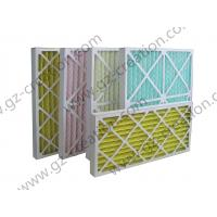 Buy cheap Cardboard Pleated Panel Filter for Air Conditioning product