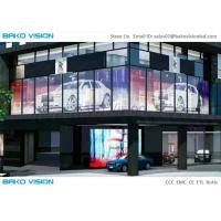 Buy cheap Wide Angle Glass Advertising Led Display Screen High Brightness 1000X500mm from wholesalers